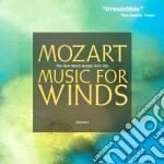 Music per fiati cd musicale di Wolfgang Amadeus Mozart