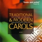 Traditional & modern carols cd musicale