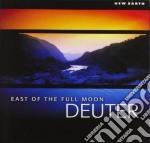 Deuter - East Of The Full Moon cd musicale di Deuter