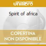 Spirit of africa cd musicale di Terry Oldfield