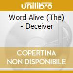 The Word Alive - Deceiver cd musicale di The Word alive