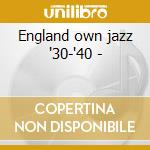 England own jazz '30-'40 - cd musicale di Black british swing
