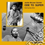 Ode to super cd musicale di Jackie mclean quinte