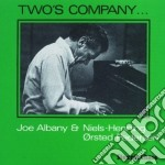 Two's company cd musicale di Joe albany & orsted