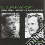 Duo live in concert cd musicale di Kenny drew & pederse