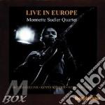 Live in europe - cd musicale di Monnette sudler quartet