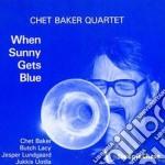 When sunny gets blue cd musicale di Chet baker quartet