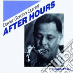 After hours cd musicale di Dexter gordon quinte