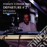 Departure 2 cd musicale di Stanley cowell trio