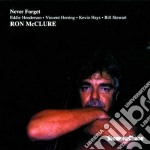 Never forget cd musicale di Ron mcclure quintet