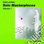 Solo masterpieces vol.1 cd musicale di Duke Jordan