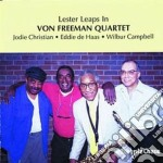 Lester leaps in cd musicale di Von freeman quartet