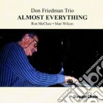 Almost everything - cd musicale di Don friedman trio