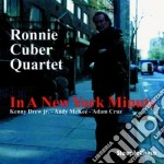 Ronnie Cuber Quartet - In A New York Minute cd musicale di Ronnie cuber quartet