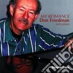 Don Friedman - My Romance cd musicale di Don Friedman