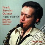 What's goin on - cd musicale di Frank strozier quintet
