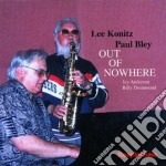 Out of nowhere - bley paul konitz lee cd musicale di Paul bley & lee konitz