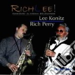 Richlee - konitz lee cd musicale di Lee konitz & rich perry