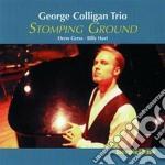 Stomping ground - cd musicale di George colligan trio
