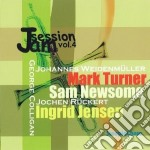Jam session vol.4 cd musicale di M.turner/s.newsome/g