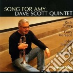 Song for amy cd musicale di Dave scott quintet