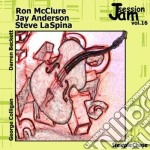 Jam session vol.16 cd musicale di R.mcclure/j.anderson