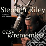 Easy to remember cd musicale di Riley Stephen