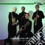 Astor piazzolla - tango - cd musicale di New danish saxophone quartet