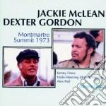 Jackie Mclean & Dexter Gordon - Montmatre Summit 1973 cd musicale di Jackie mclean & dext