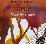 Paolo Fresu - Mamut cd musicale di Paolo Fresu