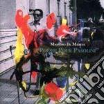 Poesie pour pasolini cd musicale di Massimo de mattia
