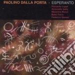 Esperanto feat.a.salis - cd musicale di Paolino dalla porta