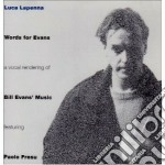 Luca Lapenna - Words For Evans cd musicale di Lapenna Luca