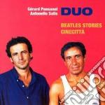 Beatles/cinecitta' - salis antonello cd musicale di Gerard pansanel & antonello sa