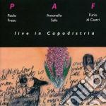 Live in capodistria - fresu paolo salis antonello cd musicale di P.fresu/a.salis & f.di castri