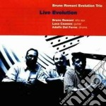 Live evolution - cd musicale di Bruno romani evolution trio