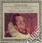 Gesualdo - cd musicale di Tino tracanna & corrado guarin