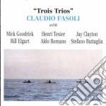Trois trios - cd musicale di Claudio Fasoli