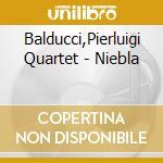 Niebla - cd musicale di Pierluigi balducci quartethno