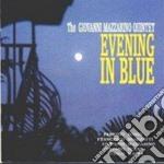 Evening in blue cd musicale di The giovanni mazzari