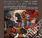 Seven pieces for large... cd musicale di Riccardo fassi tanki