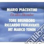 Un altro dicembre cd musicale di Piacentini Marco