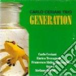 Generation cd musicale di Carlo ceriani trio