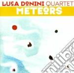 Meteors cd musicale di Luca donini quarte