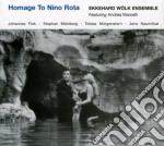 HOMAGE TO NINO ROTA                       cd musicale di EKKEHARD WOLK ENSEMB