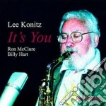 It's you - konitz lee cd musicale di Lee konitz trio