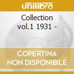 Collection vol.1 1931 - cd musicale di The washboard rhythm kings