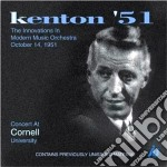 Concert cornell univ.1951 - kenton stan pepper art cd musicale di Stan kenton & his orchestra