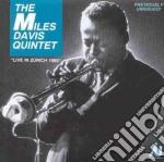 Live in zurich 1960 cd musicale di M.davis & john coltr