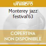 Monterey jazz festival'63 cd musicale di Thelonious monk quar